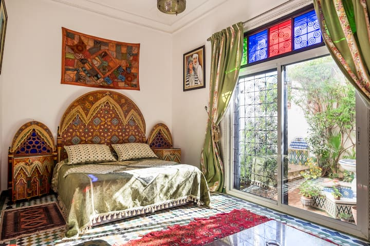 appartement meuble style petit riad - Fez