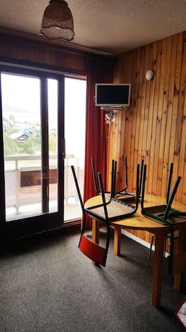 STUDIO COEUR  LA TOUSSUIRE  SAVOIE - Fontcouverte-la-Toussuire - Apartament