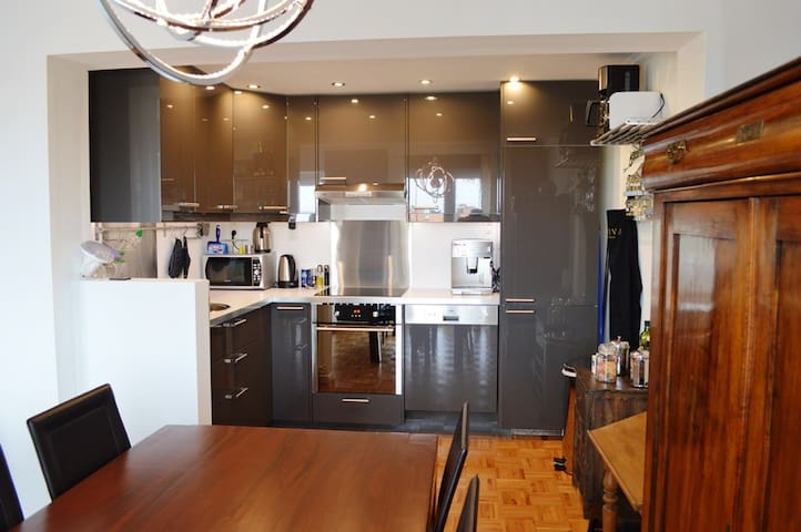 Superb Apartment 2 bedrooms 4 pers fully equipped - Charleroi
