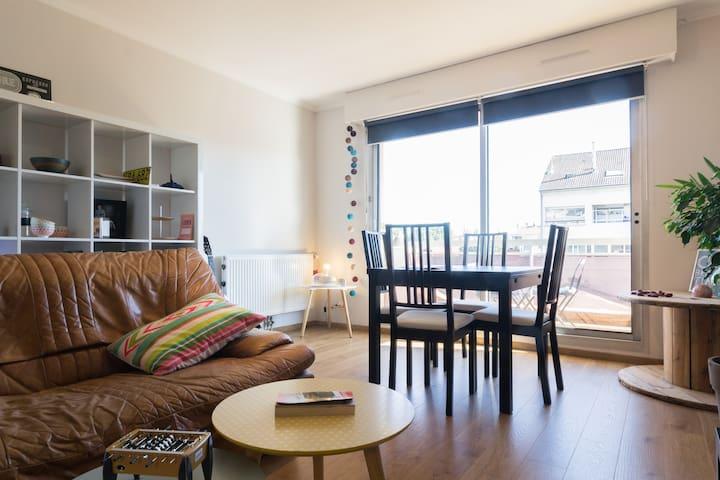 Appartement confortable et calme - Dijon - Apartamento