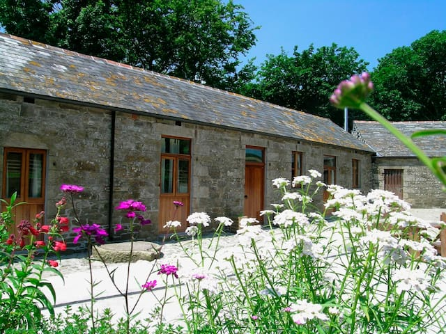 Stable Cottage, dog-friendly barn for 4, Cornwall - Saint Teath - Huis