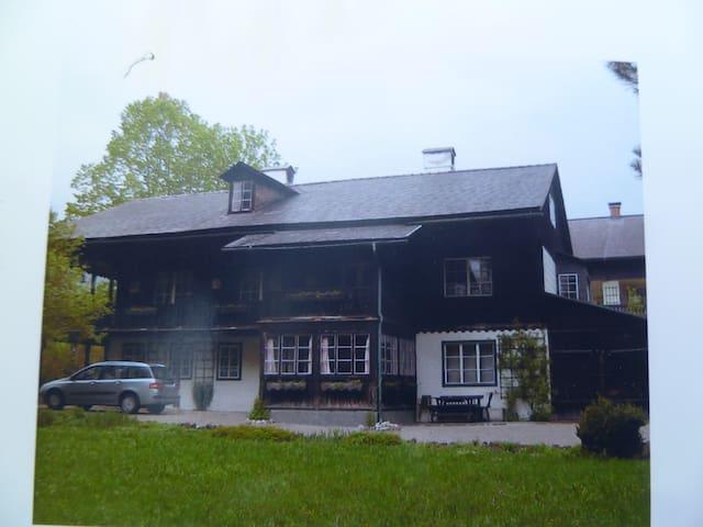 Wunderschönes altes Herrenhaus - Altaussee - Ev