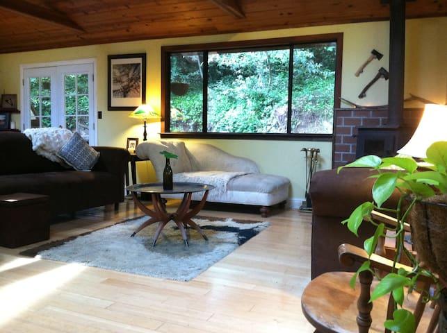 Private room in cabin in Sonoma County - Occidental - Huis