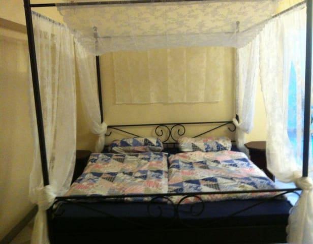 Gemütliches orientalisches Zimmer im Haus für 1-4 - Leimen - Muu