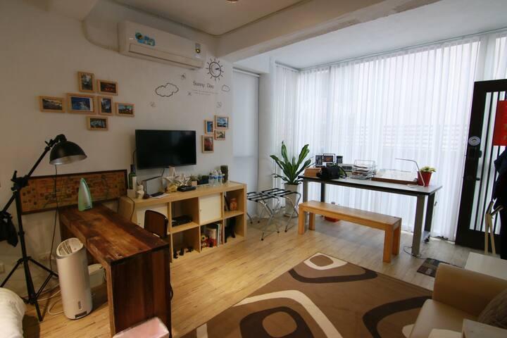 Joy house near to songshan airport - Distrik Songshan - Rumah