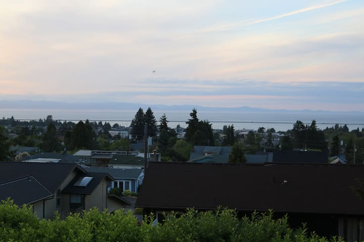 Basement Studio with Water View - 安吉利斯港(Port Angeles)
