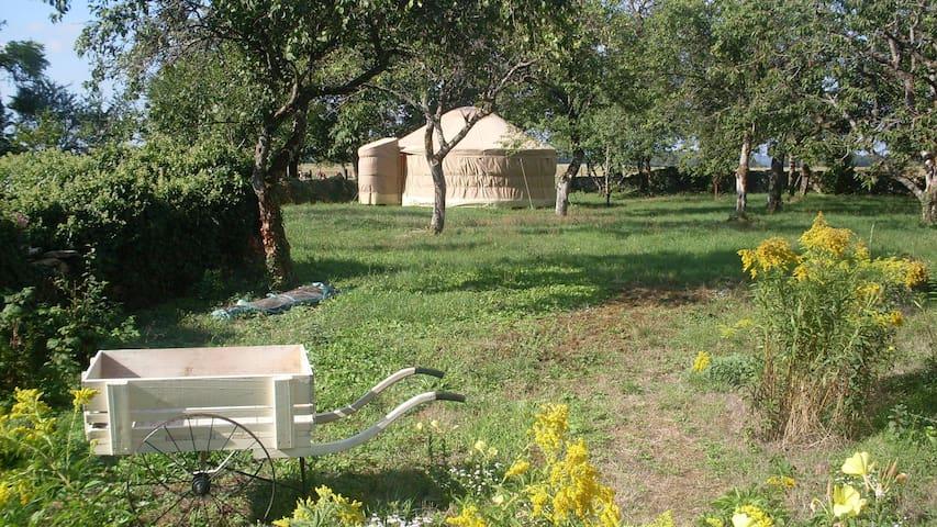 La yourte de l'atelier des ondines - Chalancey - Yurt