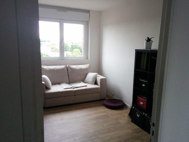 Chambre dans appartement duplex - Arras - Departamento