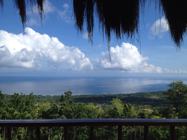 1-1 seaview service apartment with kitchen - Siquijor - Departamento