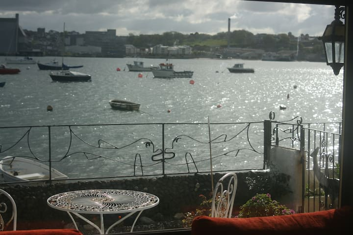 Turnstone Cottage overlooking the River Tamar - Torpoint - Hus