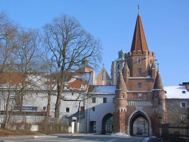 cozy stay in old town center - Ingolstadt - Appartement