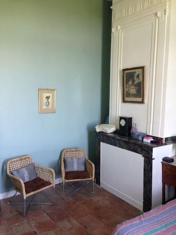 Appartement de charme dans chateau gersois - Avensac - Appartement