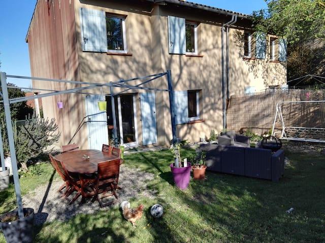 Chambres dans jolie maison au calme - Montgeard - Maison
