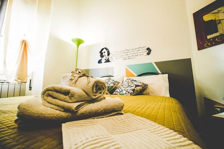 Confortevole e Creativa Camera Alda Merini - Sassari - Lägenhet