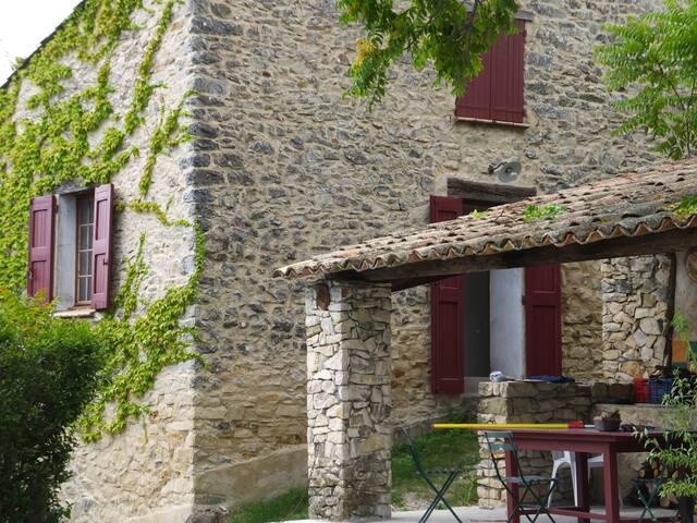 Maison de campagne - Châteauneuf-Val-Saint-Donat - Huis
