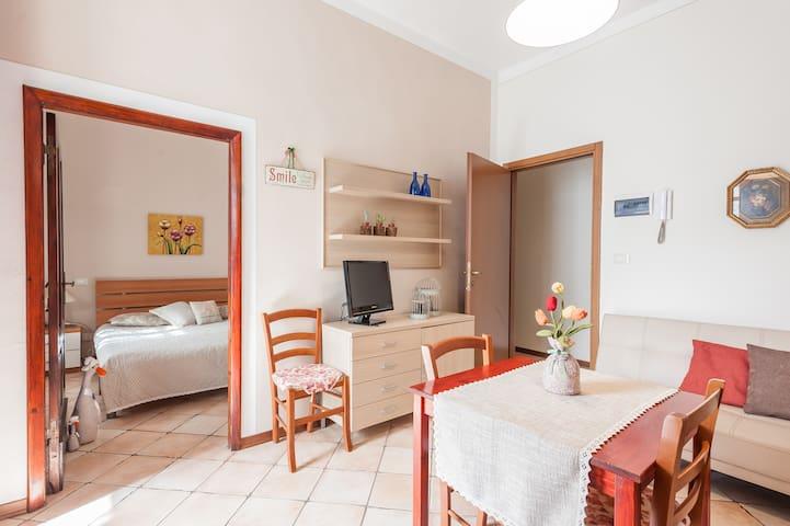 Casa Pettini : Grazioso bilocale in città d'arte - Arezzo - Departamento