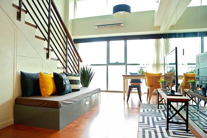 1BR Greenbelt Central Makati Loft - Makati - Loft