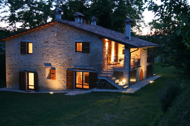 Ferienwohnungin Italien TOSKANA Pool, hund, wifi - Modigliana