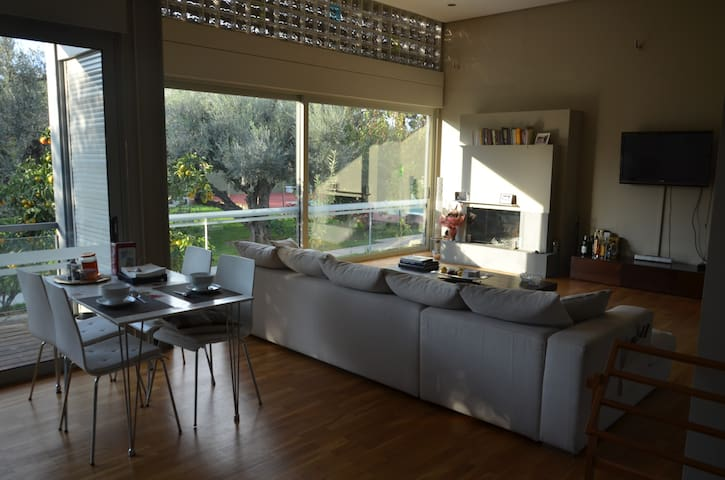 Comfortable studio with private garden - Rio - Hus