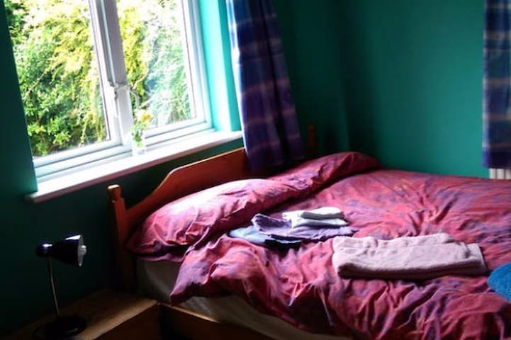 Double room in friendly family house near Exeter. - Bradninch - Casa