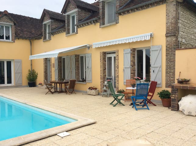 Charming french country life 2 - Auxon - Aamiaismajoitus