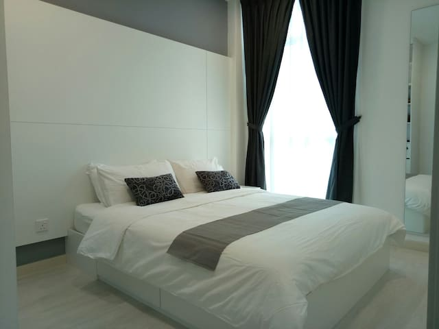 New Fully Furnished Georgetown Penang - Jelutong - Apartament