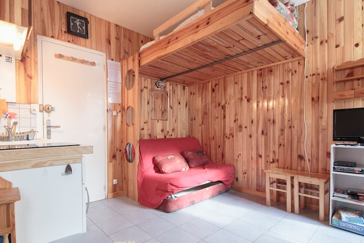 Apartment in the mountains - Ustou - Daire