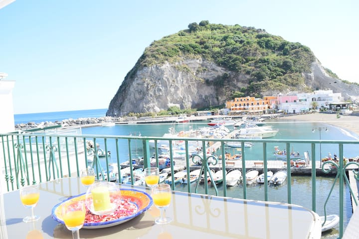 Beautiful Home breathtaking sea view. S.Angelo bay - Sant'Angelo - Haus