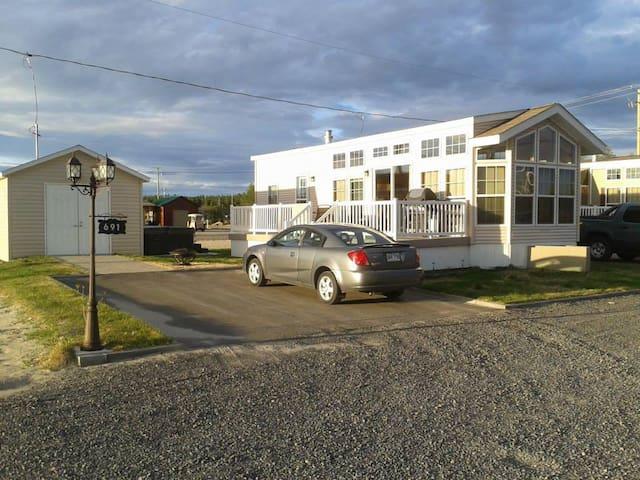 Maison Mobile Domaine de la Florida, piscine, spa - Saint-Ambroise - Ev