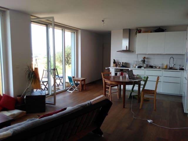 Chambre dans jolie maison proche de Lausanne - Crissier - Leilighet