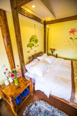 陌上花园中式大套房 - Lijiang - Loft