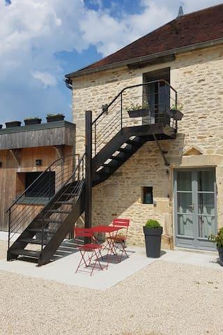 B&B La Villa des Chouettes - Maisons-lès-Chaource - Aamiaismajoitus