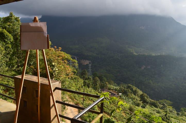 Adamspeak Sky bungalow -Mandarama - Kiriwan Eliya - Villa