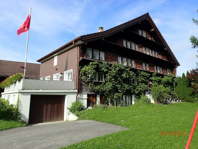 Idyllic hostel only for you, 15 rooms - Hemberg - Casa