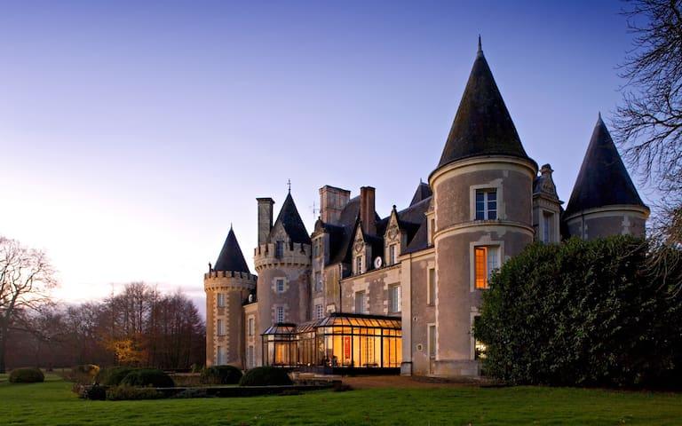 Calme et détente au Château ... - Courcelles-de-Touraine - Appartement
