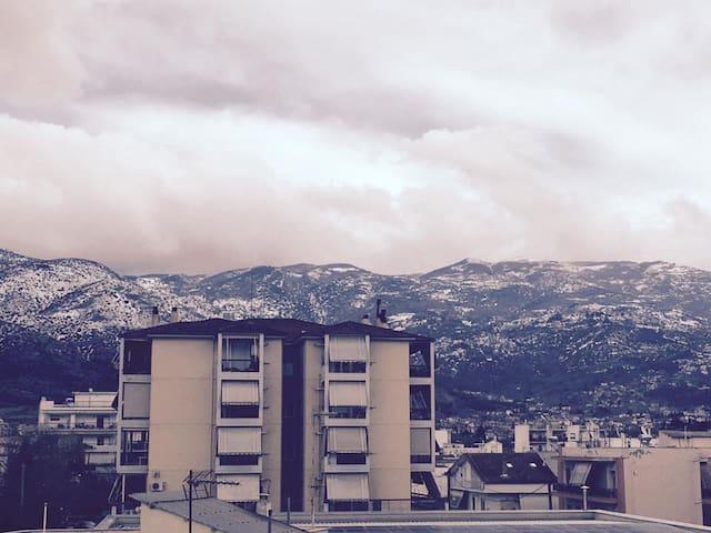 Dreamers nest Pelion view apartment - Nea Ionia - Apartamento