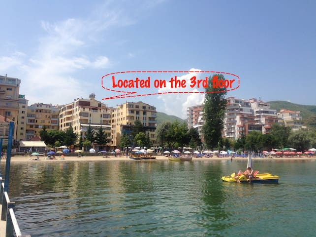 Cozy Apartment with Lake View + Parking & WiFi - Pogradec - Wohnung
