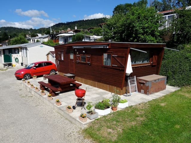 Mobil-home camping des Brenets - Les Brenets - Bungalow