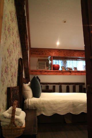 汎水淩山。閣樓雙人房 - Xincheng Township - Apartament