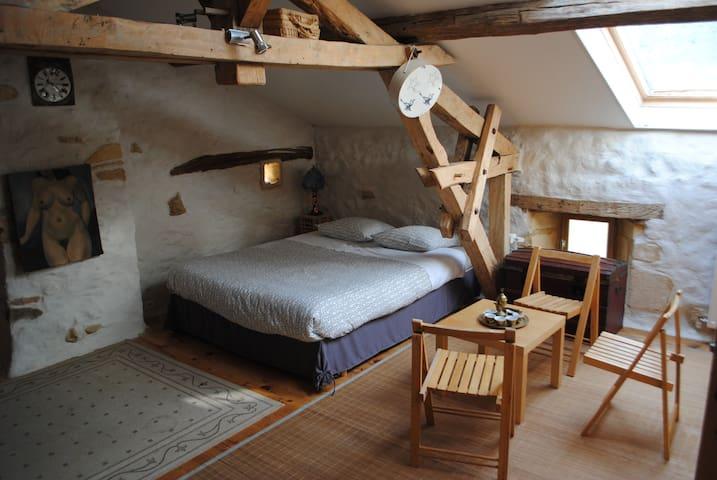 chambre au calme en périgord noir - Thenon - Gjestehus