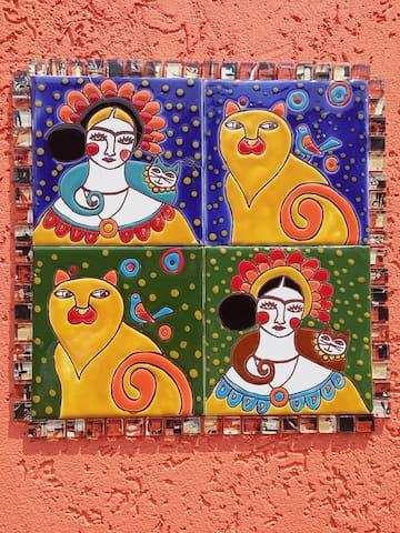 Frida Kahlo - プエルトイグアス - 一軒家