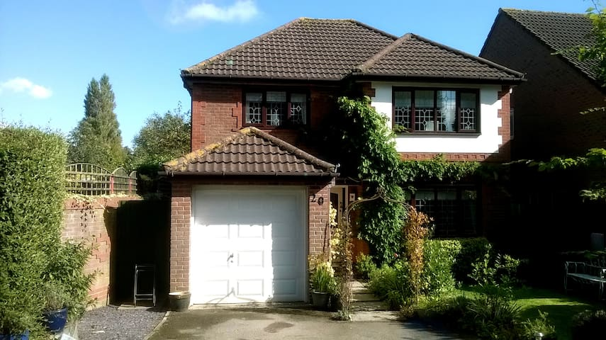 Number 20 -  a quiet family home in great setting - Chepstow
