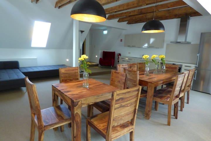 Ferienwohnung am Lustwall - Wolgast - Apartemen