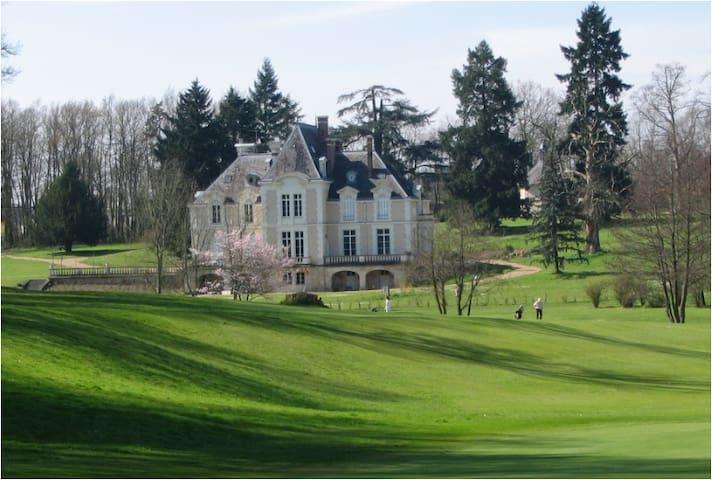 Chateau d'Ardree Suite II for 2pax B&B near Tours - Saint-Antoine-du-Rocher