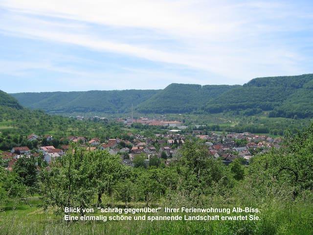 Ferienwohnung: Glücksgefühl im ALB-BISS, Topp Lage - Lenningen