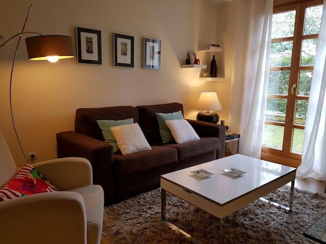 Acogedor Apartamento con jardín privado - Muros de Nalón - Lyxvåning