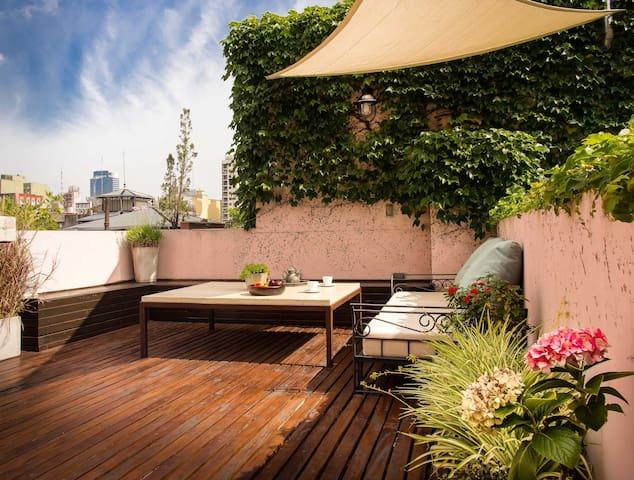 ::Private Terrace-Big bright studio-Top Location:: - Buenos Aires - Appartement