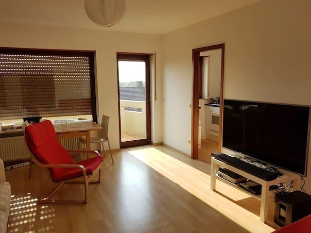 Toller Ausblick mit Sonnenuntergang - Leimen - Apartament