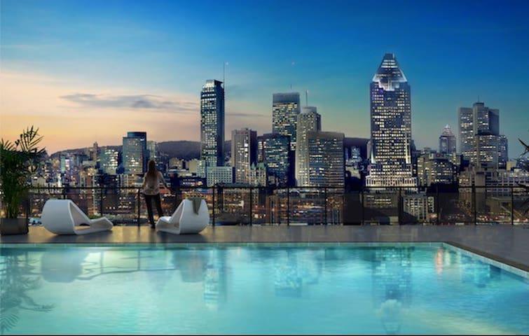 Luxury Condo Downtown Montreal - Montreal - Departamento