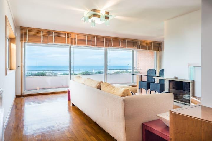 Sea view apartment - São Félix da Marinha - Leilighet
